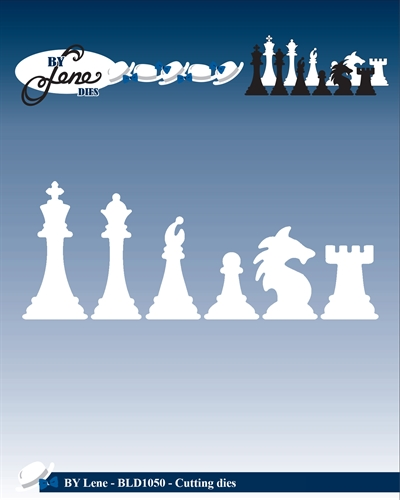 Happymade - By Lene Design - Die - Chess -  BLD1050