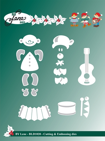 By Lene Design - Die - Christmas elves - BLD1020