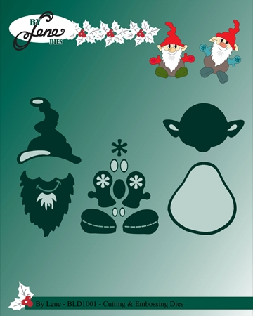 Happymade - By Lene Design - Die - Gnomes - BLD1001