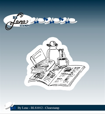 Happymade - By Lene Design - Clear stamp - BLS1012