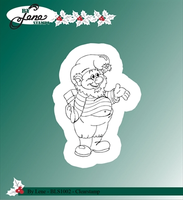 Happymade - By Lene Design - Clear stamp - BLS1002
