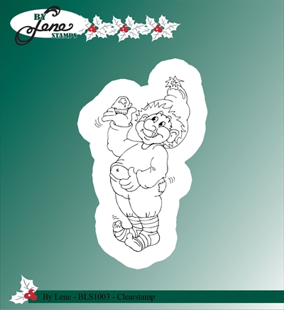 Happymade - By Lene Design - Clear stamp - BLS1003