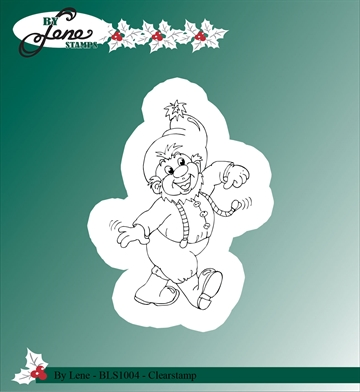 Happymade - By Lene Design - Clear stamp - BLS1004