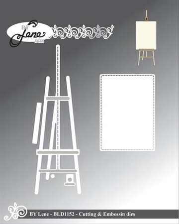 Happymade - By Lene Design - Die - Easel - BLD1152
