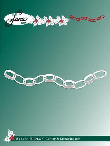 Happymade - By Lene Design - Die - Paper Chain (BLD1297)