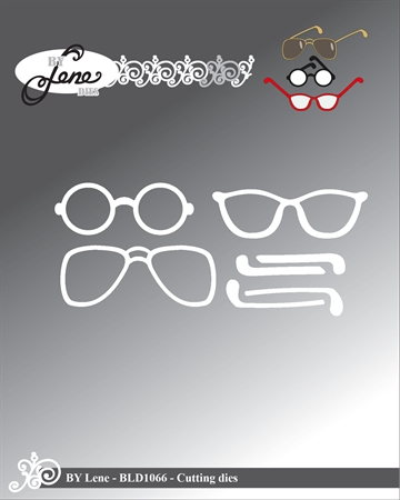 Happymade - By Lene Design - Die - Glasses - BLD1066