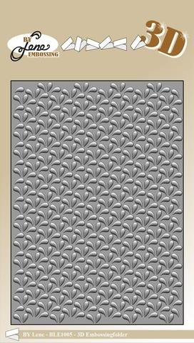 Happymade - By Lene Design - Embossing folder - Drops - BLE1005