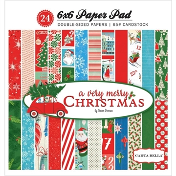 Happymade - Carta Bella - Paper Pad - A very merry Christmas (CBVMC2015)