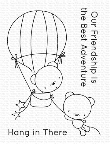 Happymade - My Favorite Things clear stamp - Best Adventure Bears (CS-494)