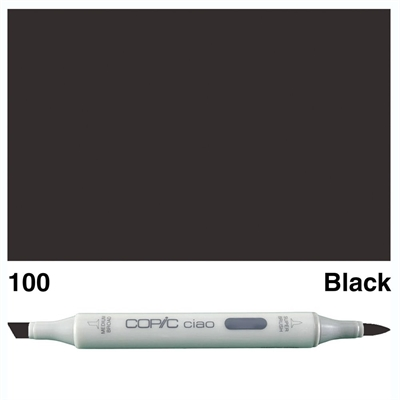Happymade - Copic Ciao - Fv. 100 - Black