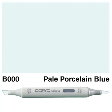 Happymade - Copic Ciao - Fv. B000 - Pale Porcelain Blue
