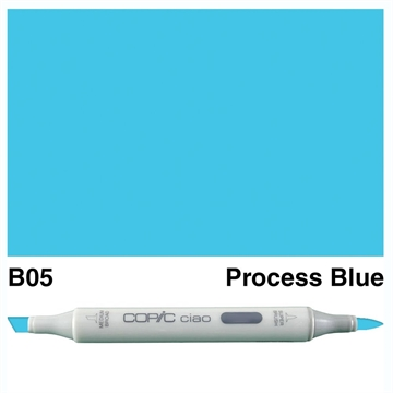 Happymade - Copic Ciao - Fv. B05 - Process Blue