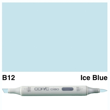 Happymade - Copic Ciao - Fv. B12 - Ice Blue