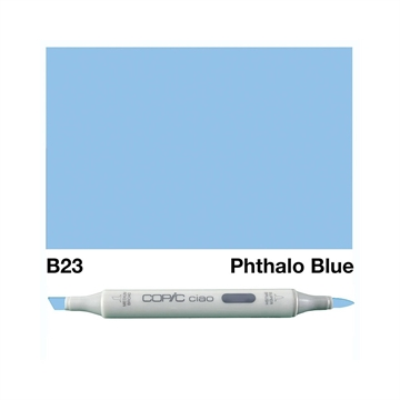 Happymade - Copic Ciao - Fv. B23 - Phtalo Blue