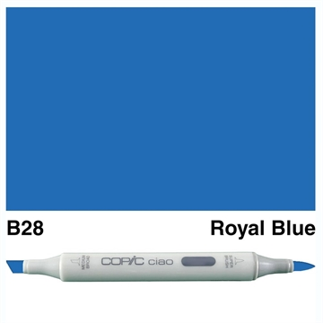 Happymade - Copic Ciao - Fv. B28 - Royal Blue