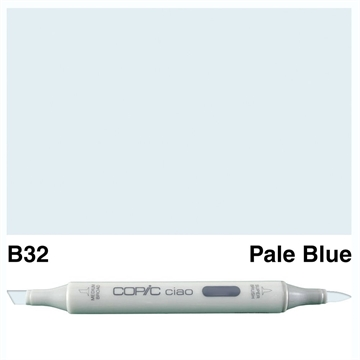 Happymade - Copic Ciao - Fv. B32 - Pale Blue