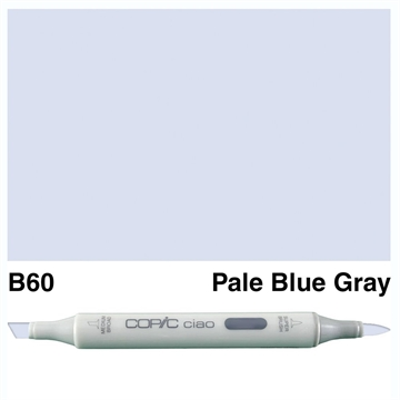 Happymade - Copic Ciao - Fv. B60 - Pale Blue Gray