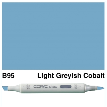 Happymade - Copic Ciao - Fv. B95 - Light Greyish Cobalt