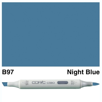 Happymade - Copic Ciao - Fv. B97 - Night Blue