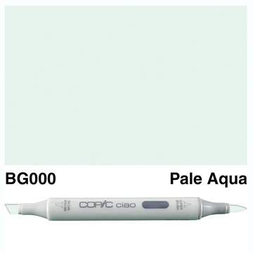 Happymade - Copic Ciao - Fv. BG000 - Pale Aqua