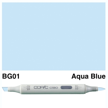 Happymade - Copic Ciao - Fv. BG01 - Aqua Blue