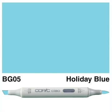 Happymade - Copic Ciao - Fv. BG05 - Holiday Blue