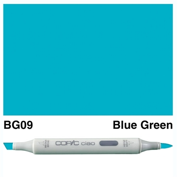 Happymade - Copic Ciao - Fv. BG09 - Blue Green