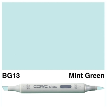 Happymade - Copic Ciao - Fv. BG13 - Mint Green