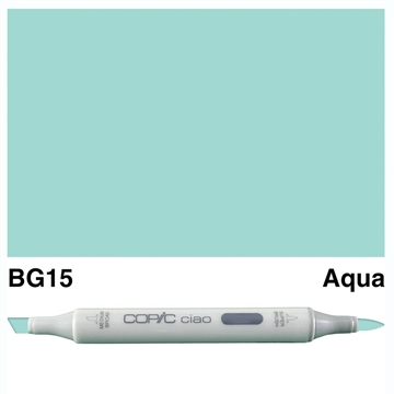 Happymade - Copic Ciao - Fv. BG15 - Aqua