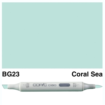 Happymade - Copic Ciao - Fv. BG23 - Coral Sea