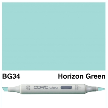 Happymade - Copic Ciao - Fv. BG34 - Horizon Green