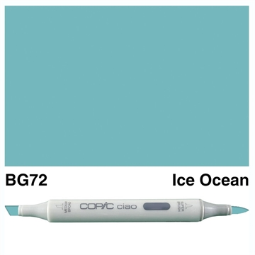 Happymade - Copic Ciao - Fv. BG72 - Ice Ocean