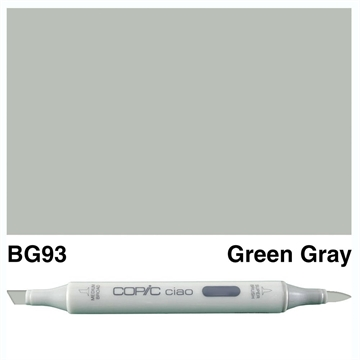 Happymade - Copic Ciao - Fv. BG93 - Green Gray