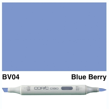 Happymade - Copic Ciao - Fv. BV04 - Blue Berry