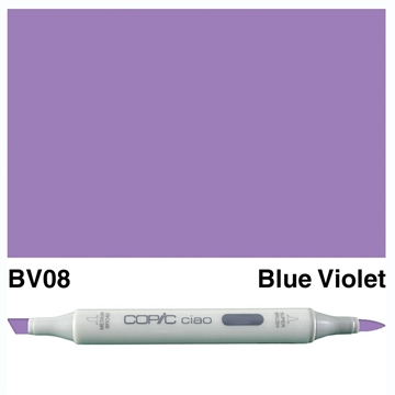 Happymade - Copic Ciao - Fv. BV08 - Blue Violet