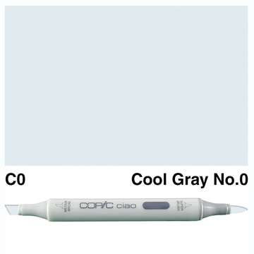 Happymade - Copic Ciao - Fv. C0 - Cool Gray 0