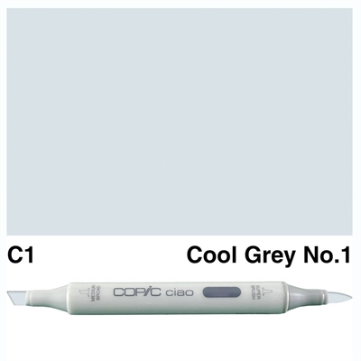 Happymade - Copic Ciao - Fv. C1 - Cool Gray 1