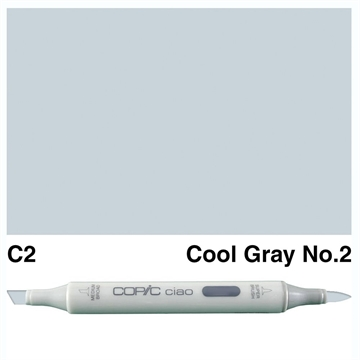 Happymade - Copic Ciao - Fv. C2 - Cool Gray 2