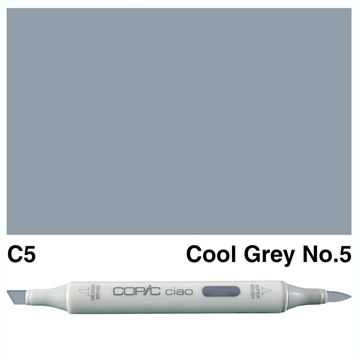 Happymade - Copic Ciao - Fv. C5 - Cool Gray 5
