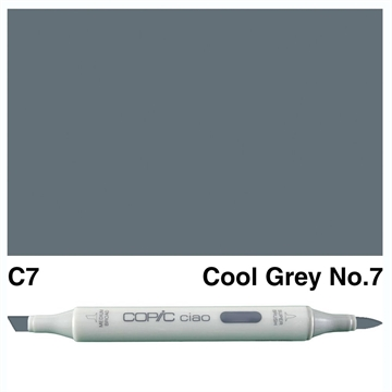 Happymade - Copic Ciao - Fv. C7 - Cool Gray 7