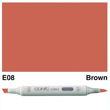 Happymade - Copic Ciao - Fv. E08 - Brown