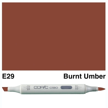 Happymade - Copic Ciao - Fv. E29 - Burnt Umber