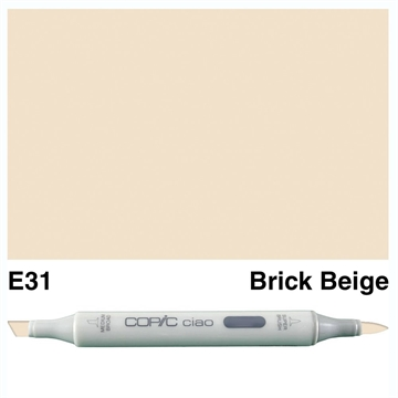 Happymade - Copic Ciao - Fv. E31 - Brick Beige