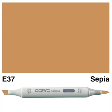 Happymade - Copic Ciao - Fv. E37 - Sephia