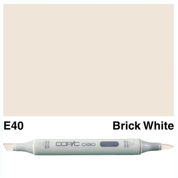 Happymade - Copic Ciao - Fv. E40 - Brick White