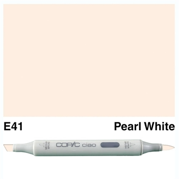 Happymade - Copic Ciao - Fv. E41 - Pearl White