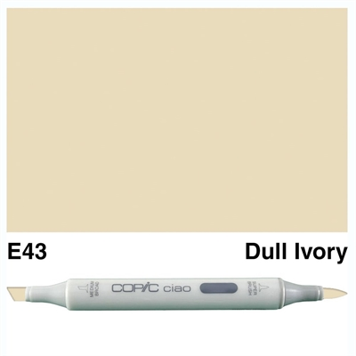 Happymade - Copic Ciao - Fv. E43 - Dull Ivory