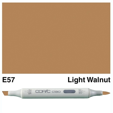 Happymade - Copic Ciao - Fv. E57 - Light Walnut