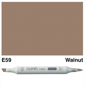 Happymade - Copic Ciao - Fv. E59 - Walnut