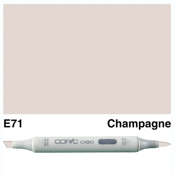 Happymade - Copic Ciao - Fv. E71 - Champagne